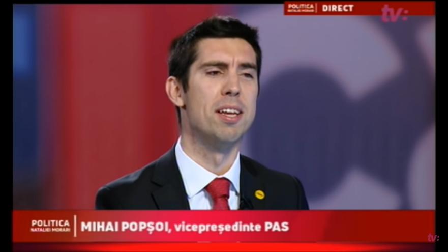 Mihai Popşoi, vicepreşedinte PAS