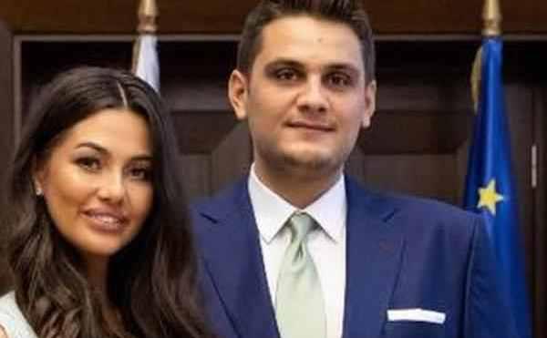 Valentin Dragnea şi soţia lui