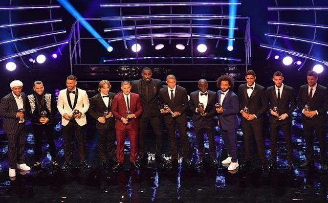 Laureaţii Galei 'The Best FIFA Football Awards'.