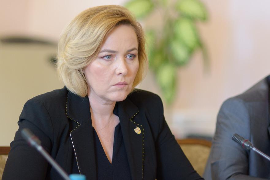 Carmen Dan (Ministrul Afacerilor Interne);