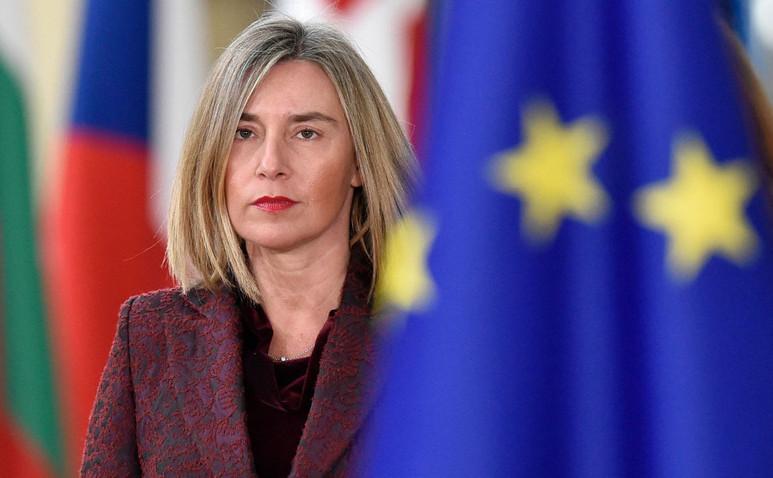 Federica Mogherini, Înaltul Reprezentant al Uniunii Europene pentru Afaceri Externe