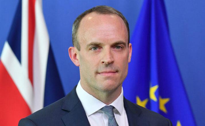 Secretarul britanic pentru Brexit, Dominic Raab