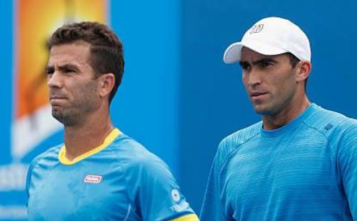 Tenismanul român Horia Tecău şi cel olandez Jean-Julien Rojer.