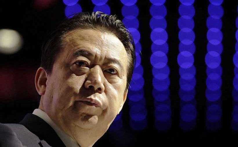 Meng Hongwei, şefului Interpolului