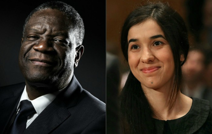 Denis Mukwege şi Nadia Mura