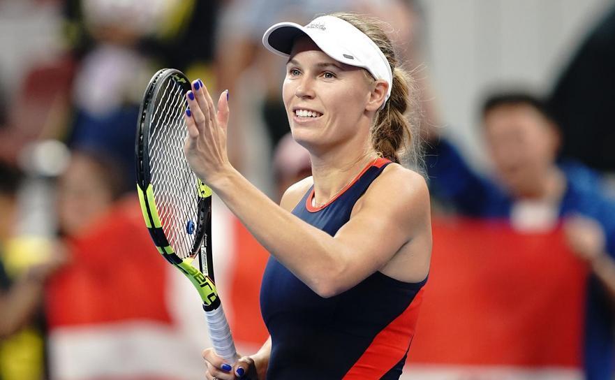 Jucătoarea daneză de tenis Caroline Wozniacki.