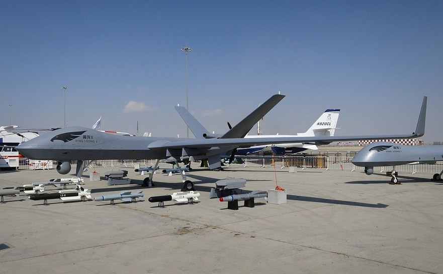 Dronă militară chineză Wing Loong II