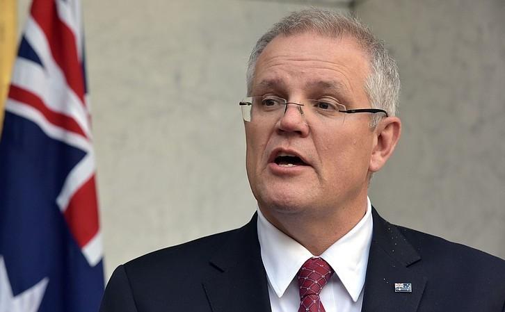 Premierul australian Scott Morrison