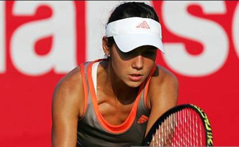 Jucătoarea română de tenis Raluca Olaru.