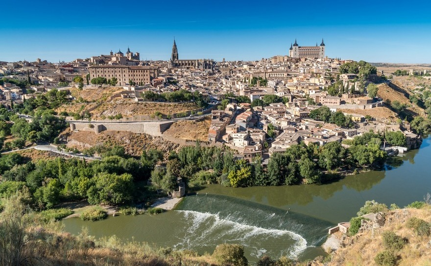 Spania - Toledo, vedere generala.