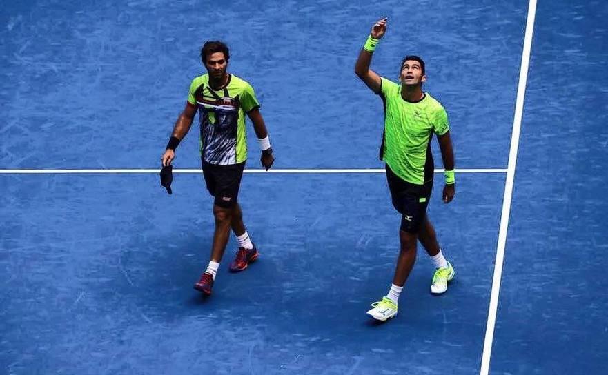 Perechea formată din tenismanul român Horia Tecău şi olandezul  Jean-Julien Rojer.