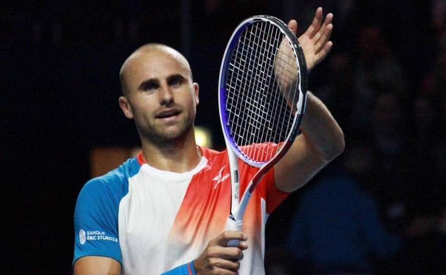 Jucătorul român de tenis Marius Copil.