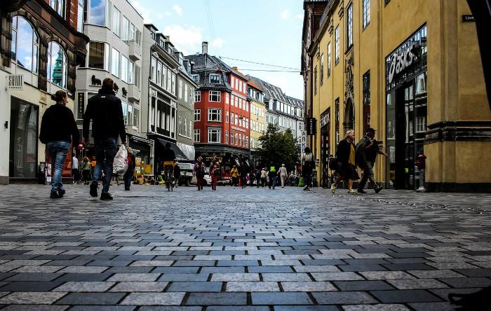 Imagine dintr-un oraş din Danemarca