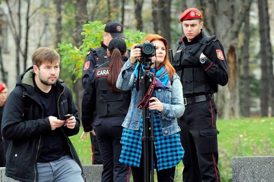 Viorica Tataru, reporteră la Ziarul de Gardă din R. Moldova