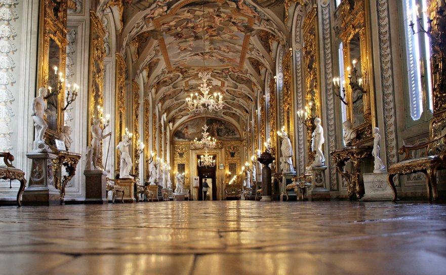 Galeria oglinzilor - Palatul Doria-Pamphili, ROMA.