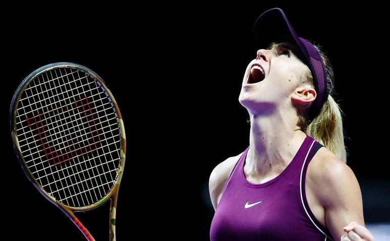 Jucătoarea ucraineană de tenis Elina  Svitolina.