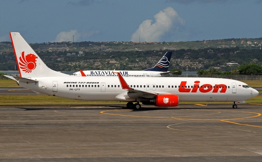 Avion al companiei aeriene indoneziene Lion Air