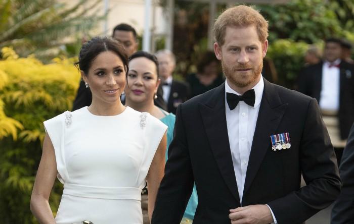 Meghan Markle împreună cu prinţul Harry