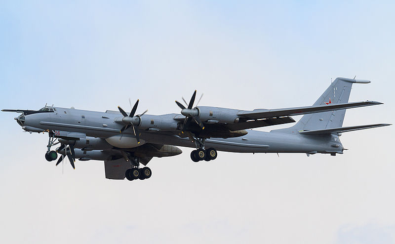 Bombardier rusesc Tupolev Tu-142