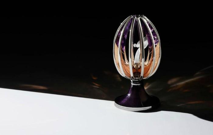 """Rolls-Royce şi Fabergé au creat """"Spiritul Extazului"""", oul Fabergé unicat"""