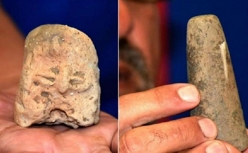 Statuetă descoperită în Bulgaria, vechime estimată la 8000 de ani