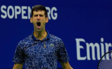 Tenismanul sârb Novak Djokovic.