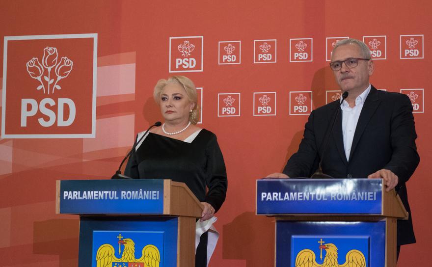 Liviu Dragnea şiViorica Dăncilă