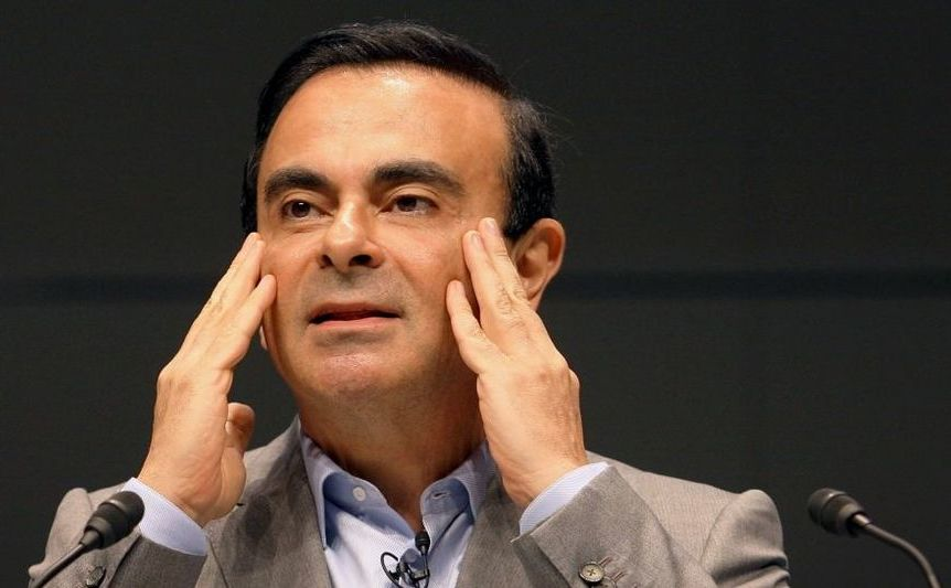 Carlos Ghosn, preşedintele producătorului auto Nissan