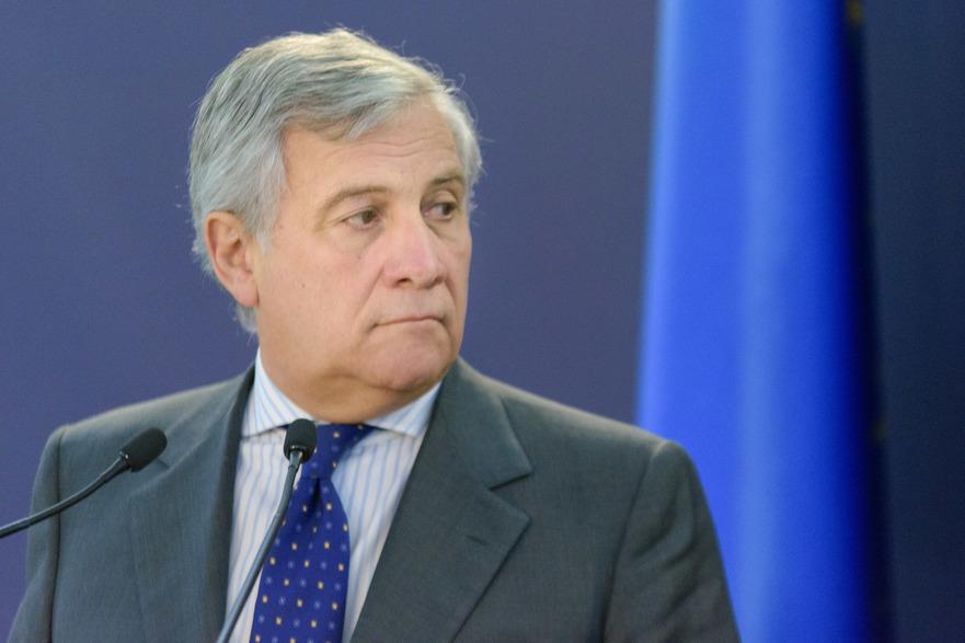 Antonio Tajani, (Preşedintele Parlamentului European),