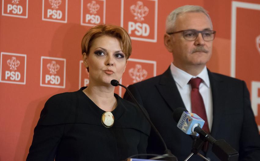 Olguţa Vasilescu şi Liviu Dragnea