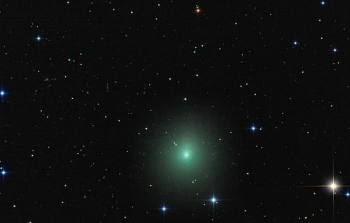 Cometa 46P/Wirtanen fotografiată de Rolando Ligustri cu un telescop robotizat în  Australia, la Siding Spring