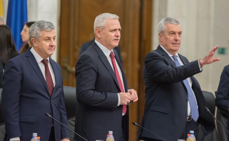 Florin Iordache, Liviu Dragnea şi Călin Popescu Tăriceanu
