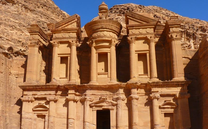 Petra - Templul.