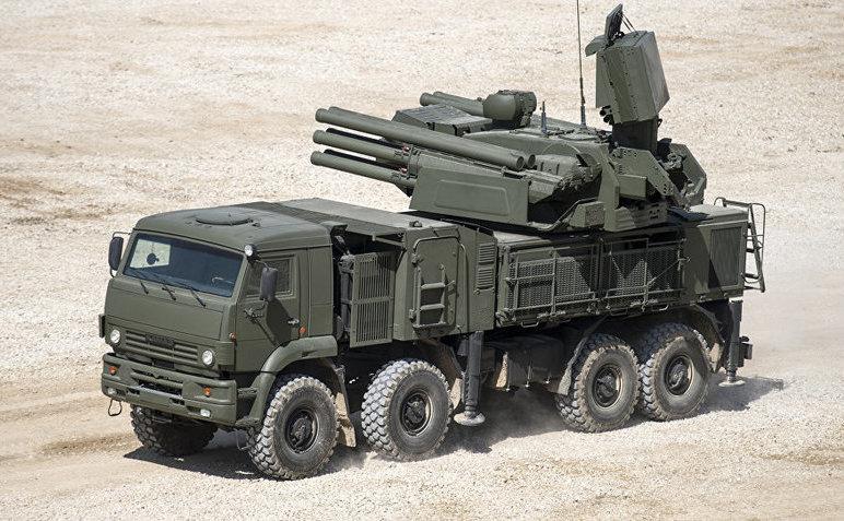 Sistem de rachete rusesc Pantsir-S