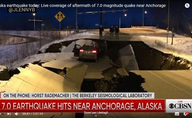 Alaska: Un cutremur de magnitudine 7 grade pe scara Richter generează alertă de tsunami. Porţiuni de drumuri au devenit nefrecventabile.