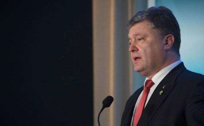 Preşedintele ucrainean Petro Poroşenko
