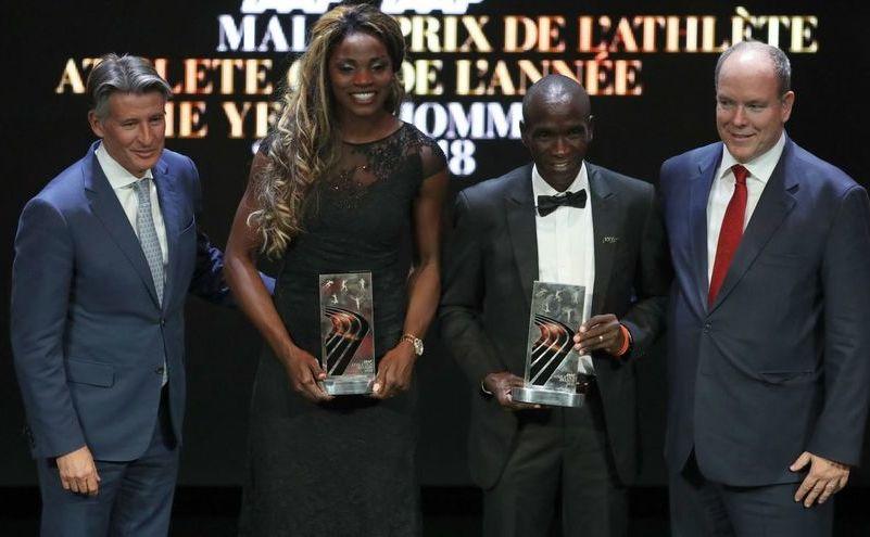 Kenyanul Eliud Kipchoge şi columbiana  Caterine Ibarguen, desemnaţi cei mai buni  atleţi ai anului 2018.