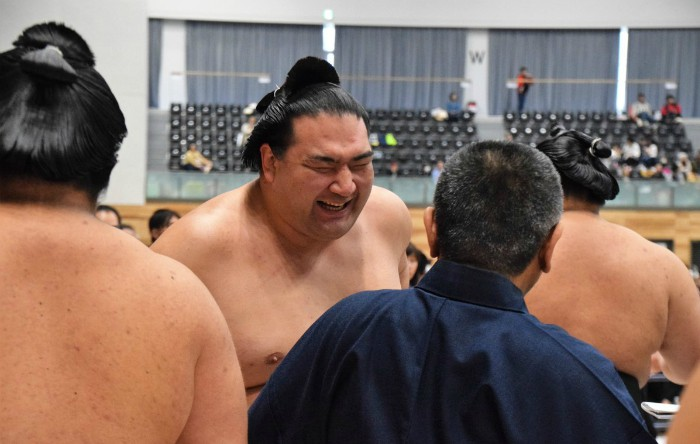 Luptătorul de sumo japonez Takayasu Akira