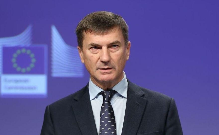 Andrus Ansip, comisarul UE pentru piaţa unică digitală europeană