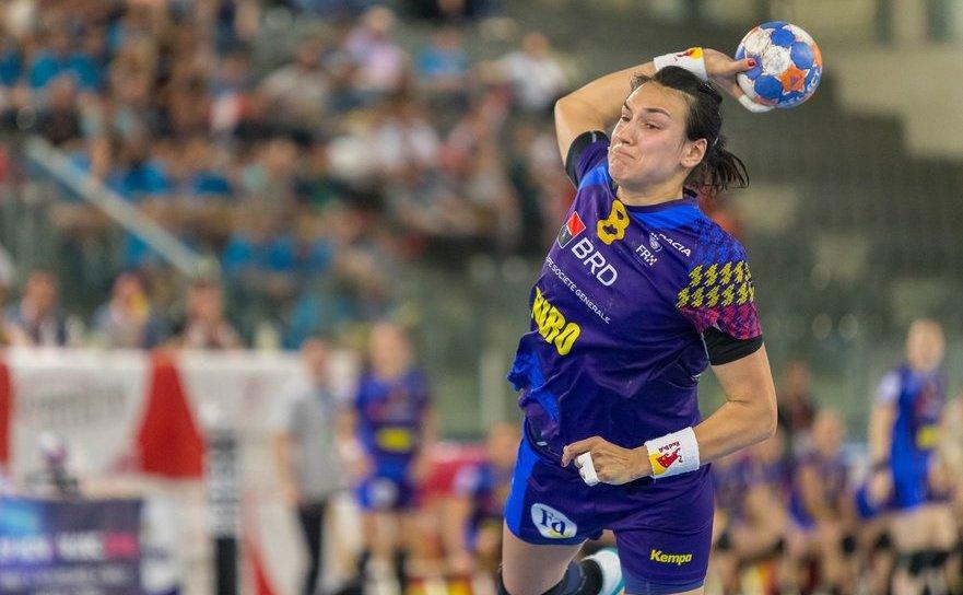 Jucătoarea română de handbal Cristina Neagu.