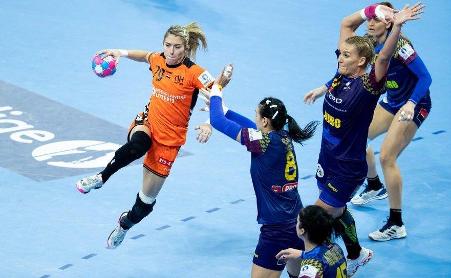 Naţionala României, învinsă de Olanda cu  scorul de 29-24 (11-10).
