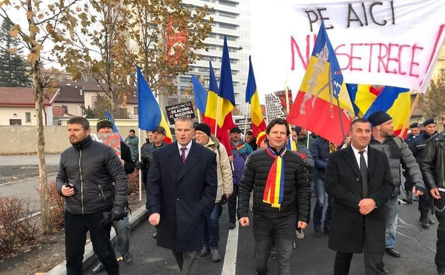 Marş împotriva semnării Pactului de la Marrakesh