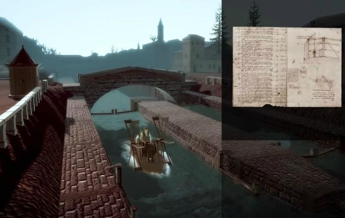 """Barca a Pale"", Leonardo da Vinci"