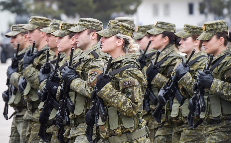 Membri ai Forţei de Securitate din Kosovo