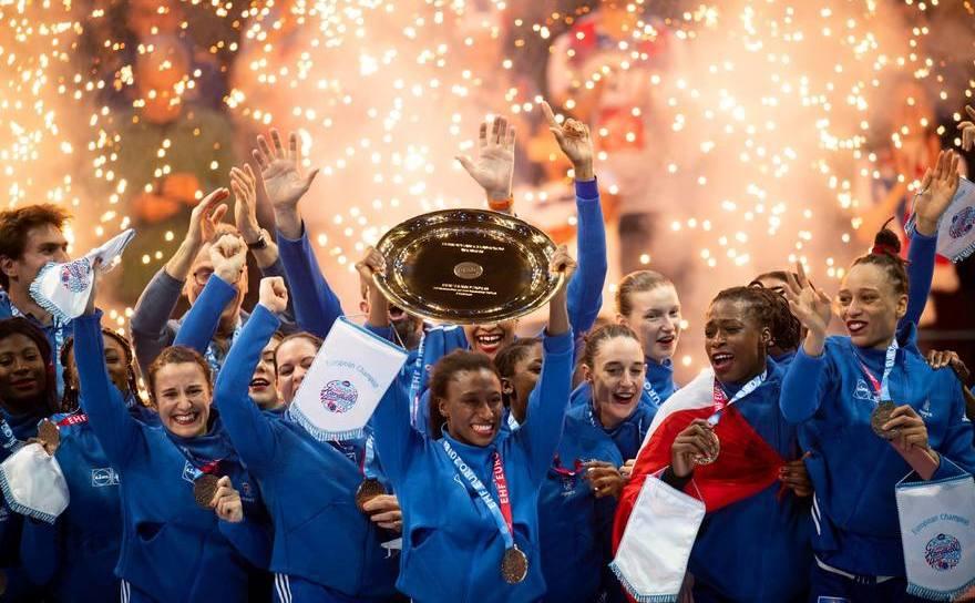 Naţionala Franţei a câştigat în premieră titlul continental, după o finală cu Rusia, scor 24-21.