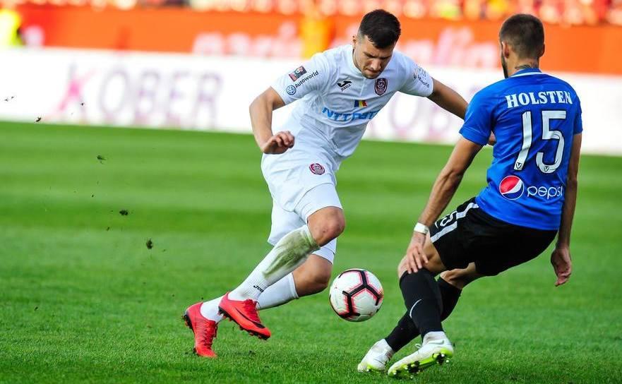 FC Viitorul - CFR Cluj 0-1, meci din etapa a 20-a a Ligii I de fotbal.