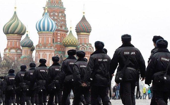 Poliţişti ruşi