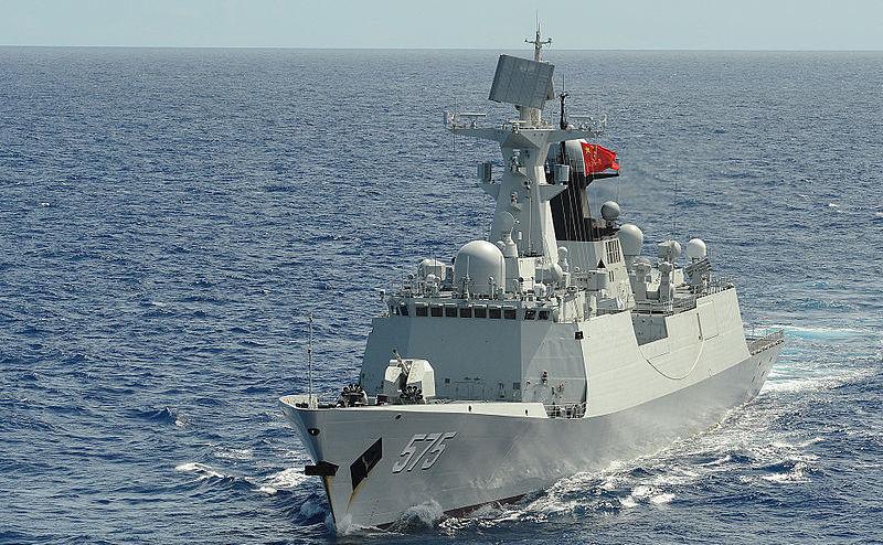 Fregata chineză Yueyang din clasa Type 054A