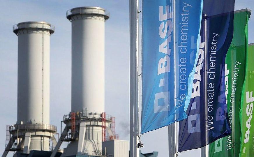 Sediul gigantului BASF în Ludwigshafen, vestul Germaniei