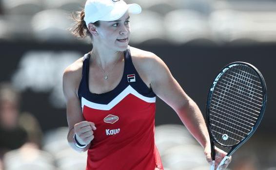 Jucătoarea australiană de tenis Ashleigh Barty.